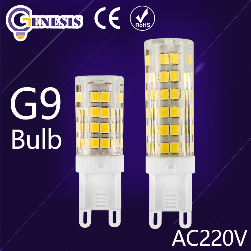 LED G9 led bulb 220V 5W 7W 10W 15W Mini G9 Bulb Lamp Ceramic Crystal High Power High Transmittance 360 Degree Spot Light(China (Mainland))