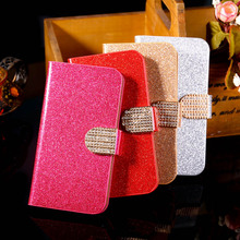 Buy PU Leather Covers Cases Alcatel OneTouch Pixi 3 3.5'' 4009 one touch pixi3 Cases Luxury Bling Card Holder back covers for $2.63 in AliExpress store