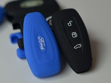 Silicone car key cover remote cover FOR Ford focus 3 Ecosport Fiesta Focus Mondeo Ecosport Kuga