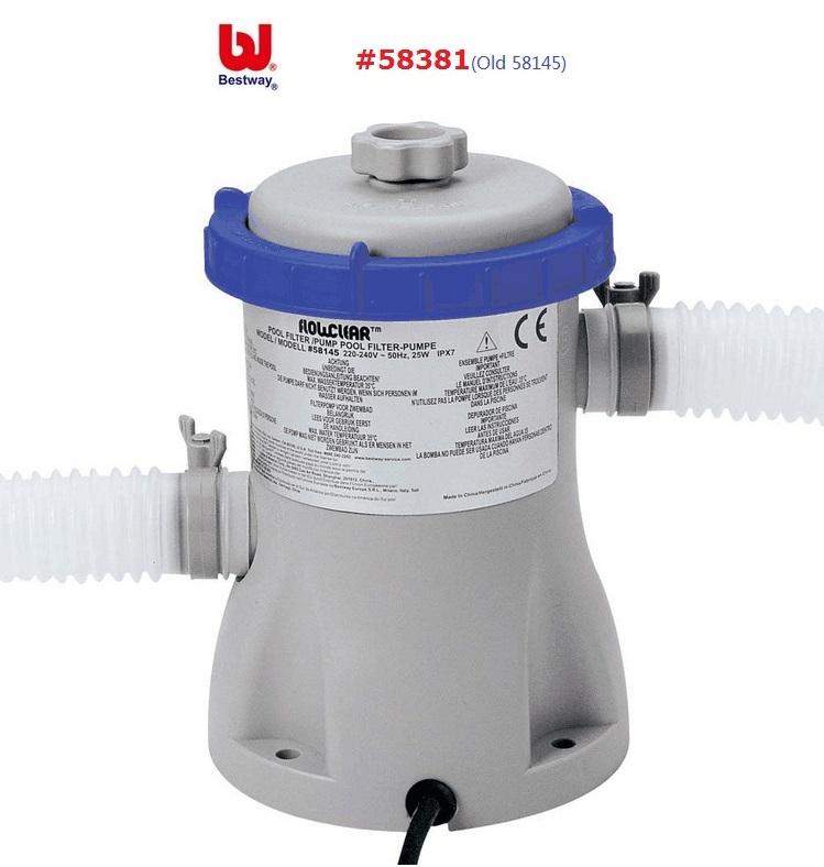 #58381/58382 Bestway 330gal Flowclear Filter Pump/Laminated Swimming Pool Water Circulating Filter/swimming Pool Water Cleaner(China (Mainland))