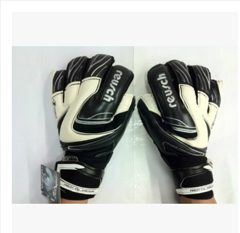 Thickened Reusch 's top goalkeeper gloves football lungmoon goalkeeper gloves soccer gloves- LATEX palm(China (Mainland))