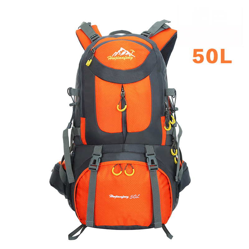 40-50L Mountain Backpack Hiking climbing Backpacks Cycling Road Rucksack Sport Camping Pack Outdoor Travel Bag L-BDRW-42(China (Mainland))