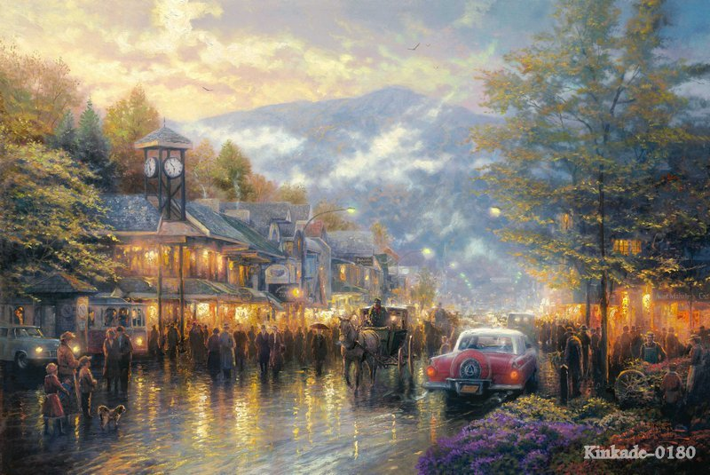 Popular Thomas Kinkade Reproduction Buy Cheap Thomas Kinkade Reproduction Lots From China Thomas