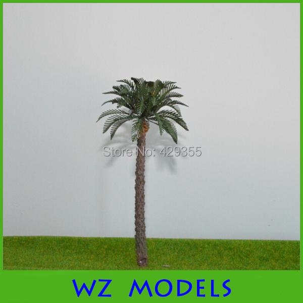Plastic scale model palm tree 100mm<br><br>Aliexpress
