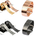 New Replacement Mens Stainless Steel Link Bracelet Strap watchbands for Apple Watch