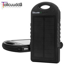 Buy Tollcuudda Solar Phone Power Bank 12000mAH Xiaomi Iphone 6 Mobile Battery Charger Poverbank Portable Powerbank Solar for $38.49 in AliExpress store