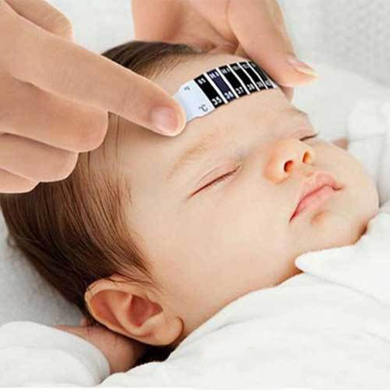 1 Pcs Forehead Head Strip Thermometer Fever Body Baby Child Kid Monitor Care Test Temperature New Hot Selling Termometro Testa(China (Mainland))