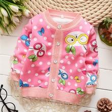 New Unisex winter autumn infant Cartoon Round collar baby boy girl Fleece sweater child sweater children sweater shirt(China (Mainland))