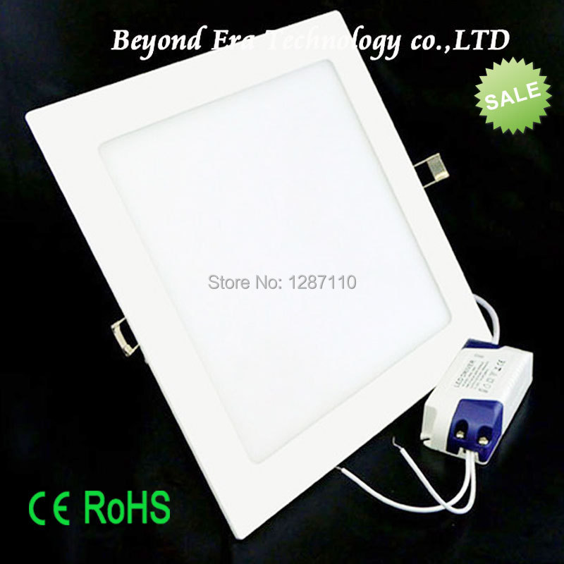 square ultra-thin LED panel light lamp ceiling light 3W LED panel light CE RoSH passed(China (Mainland))