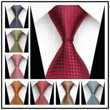 Pánska kravata s jemným vzorom z Aliexpress