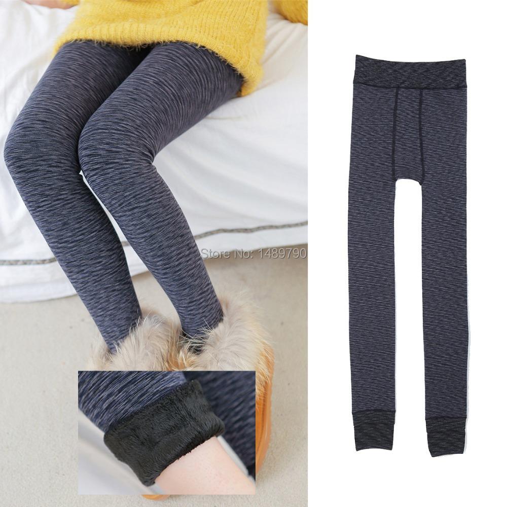 Free shipping new Women winter Thickening Fur woolen Warm Leggings womens winter fleece legging pants velvet leggins(China (Mainland))