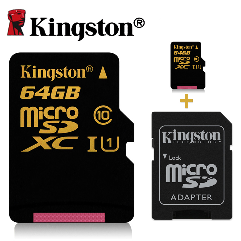 buy kingston micro sd card 64gb class 10. Black Bedroom Furniture Sets. Home Design Ideas