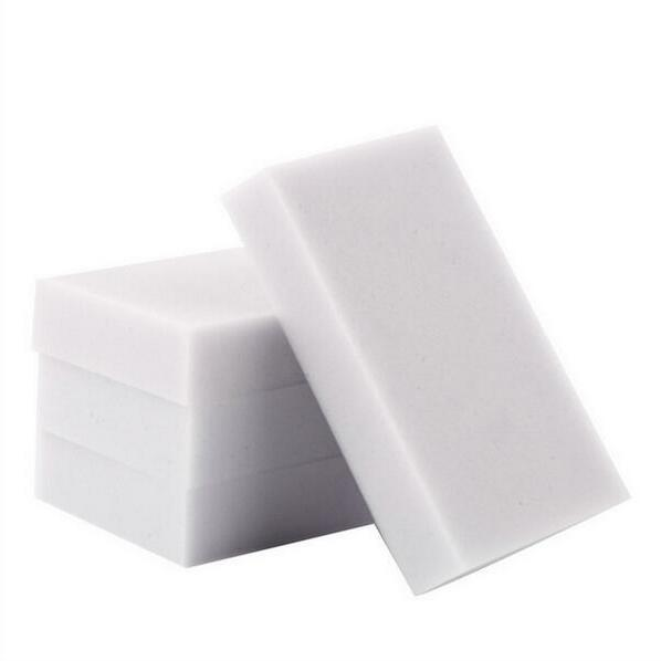 wholesale-400 pcs/lot Sponge Eraser Melamine Cleaner,multi-functional Cleaning 100x60x10mm without opp package