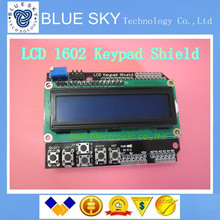 new 1pcs LCD Keypad Shield of the LCD1602 LCD1602A V2.0 character LCD input and output expansion board(China (Mainland))
