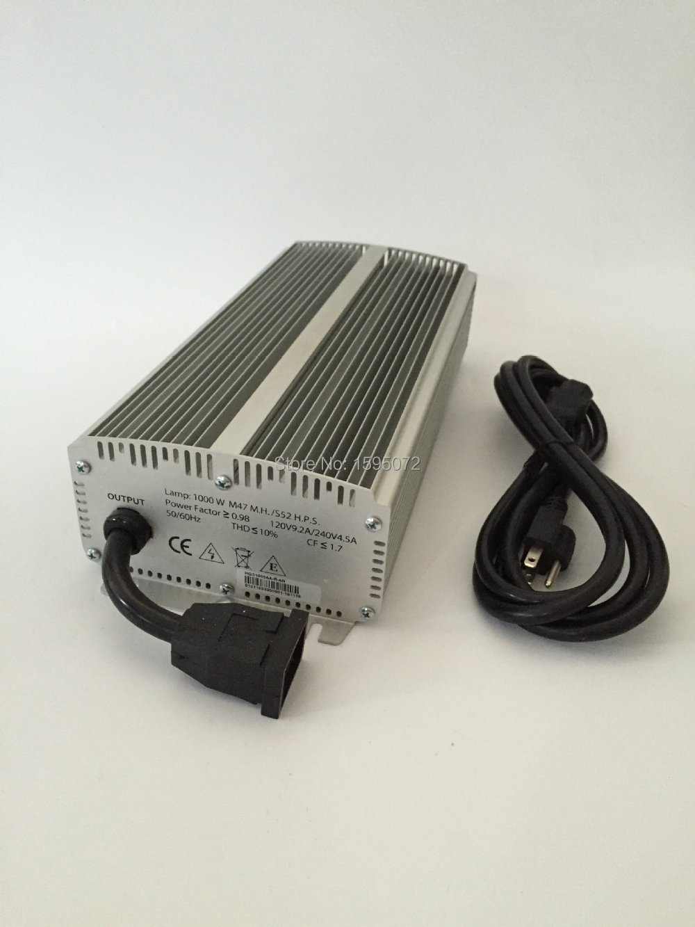 1050-400Watts adjustable electronic ballast with remote control grow light ballast