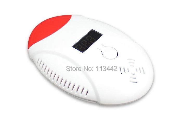 Бесплатный ShippingLED цифровой дисплей со детектор голос-стробоскопа главная безопасность безопасность со газ угарный газ сигнализации