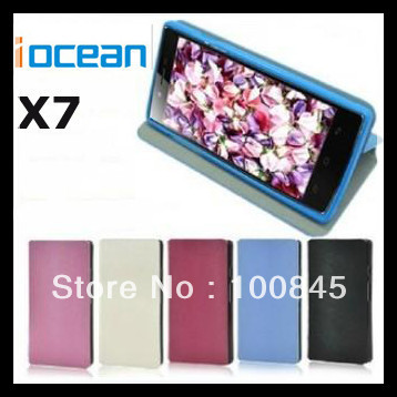 Original  Leather Case for iocean X7 Elite, X7 Plus, X7 Yound Mobile Phone Free shipping