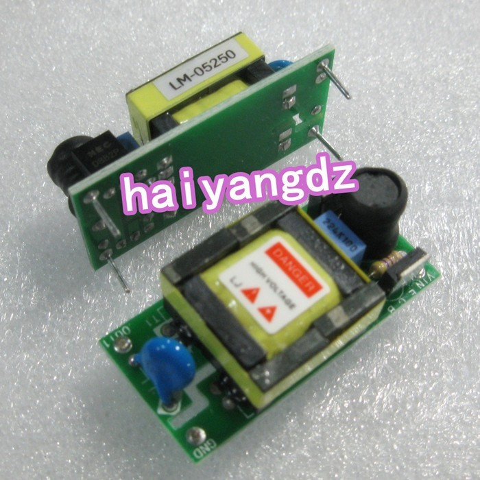 (2PCS) 5V display driver 10.4 inch LCD lamp high voltage inverter LM-05250(China (Mainland))