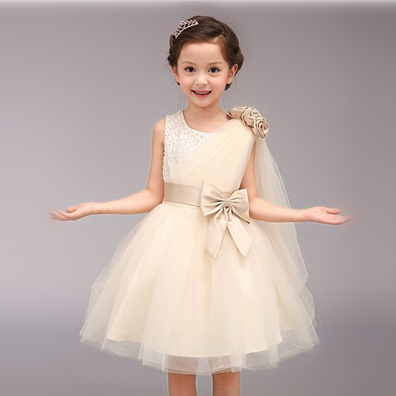 High quailty toddlers wedding gowns kids formal party for Infant dresses for weddings