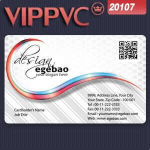 200pcs Pvc transparent      business card template a2107  for Paper name card too<br><br>Aliexpress