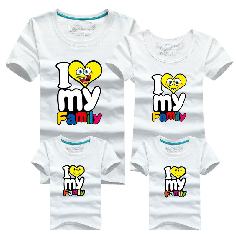 Wholesale hot selling 95 cotton shirt yellow family set t for Where can i sell my shirts online