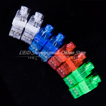 100pcs/lot LED finger light,4 color Laser finger lamp for party. birthday,Chistmas decoration Freeshipping
