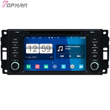 Newest Quad Core S160 Android 4.4 Car DVD Radio For Dodge/Sebring/J-eep With BT Wifi 16GB Flash Mirror Link DHL Free Shipping