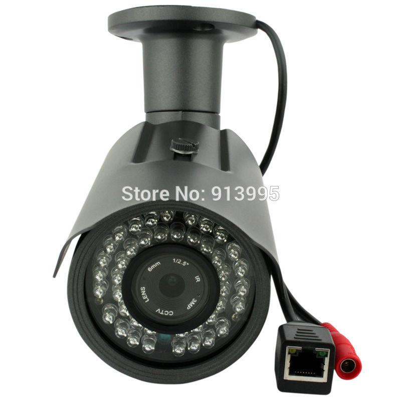 1920*1080P 2MP ONVIF PoE Bullet IP Camera Outdoor Waterproof P2P IR-Cut Filter Network Camera<br><br>Aliexpress