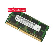 Пожизненная гарантия для микрон DDR3 4 ГБ 1333 мГц PC3-10600S DDR 3 4 г портативный ноутбук памяти первоначально 204PIN SODIMM