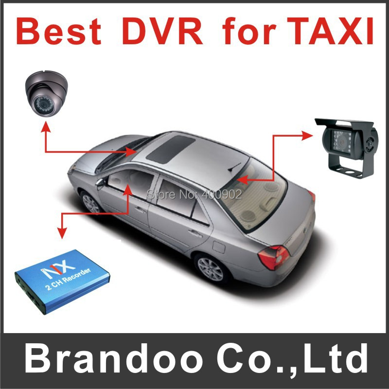 2ch car dvr/2 ch car security system working for car security/taxi security/bus monitoring(China (Mainland))
