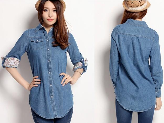 قمصان جينز 2015 جاكيت 2015-female-shirt-de