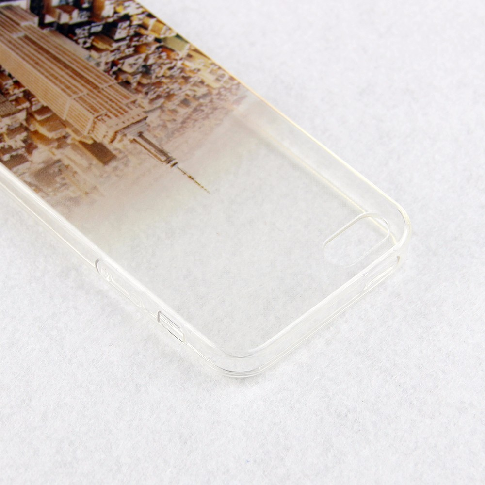 Soft Silicone capa Transparent Thin fundas coque Case Cover For Apple iPhone 5 5S SE 4 4S 5C 6 6s Plus caso For iphone6s