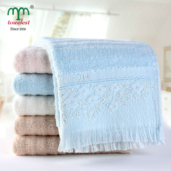 MMY 2015 NEW Hand/Face Towel with Tassels--1PC/Lot 100% Cotton Towels serviette Gift Towels for Family 010572(China (Mainland))