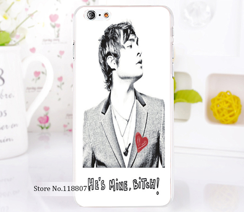 Gossip Girl Ed Westwick Chuck Bass Style For iPhone 6 6s 6g iphone 6+ 6 plus Transparent Case Hard Clear Cover New arrival(China (Mainland))
