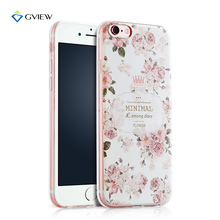 New Fashion Rear Cover For Apple iPhone 7 4.7″ 3D Pattern Painted Soft TPU Mobile Phone Protective Back Case + Free Gift