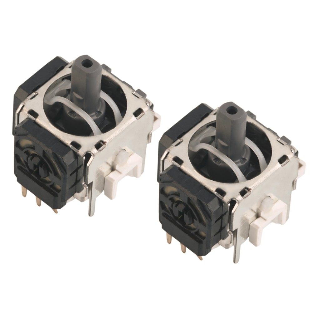 image for In Stock! 2pcs New Replacement Part 3D Controller Joystick For Playsta