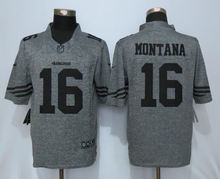 100% Stitiched,San Francisco 49ers Joe Montana Jerry Rice NaVorro Bowman Elite for men(China (Mainland))