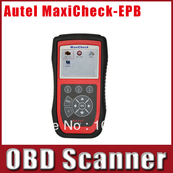 Original Autel MaxiCheck-EPB Brake Pads Replacement And Recalibration Diagnostic Tool DHL Free Shipping(China (Mainland))