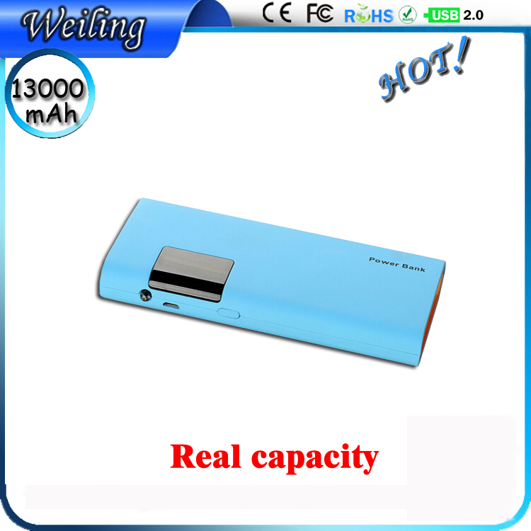 Digital display Universal Portable Power Bank 13000 mah Power Bank for smartphone /ipad/camera Yoobao Power Bank(China (Mainland))