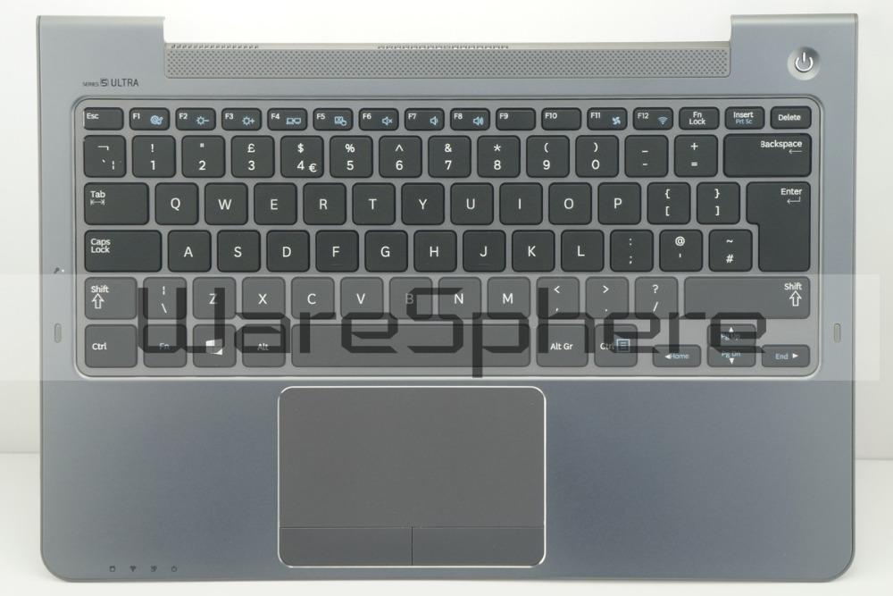 Top Cover Upper Case For Samsung NP530 NP530U3C NP535U3C BA75-04043A Gray UK
