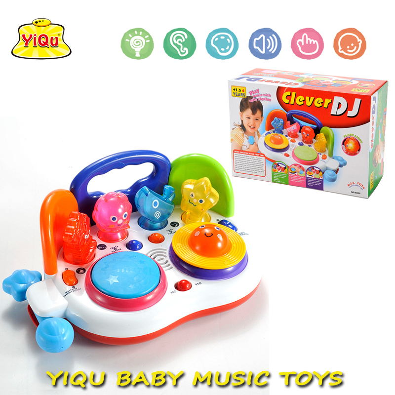 Hot Piano Keyboard Early Educational Toys Baby Cartoon DJ Player Toys Musical Instrument Toys YQ88105(China (Mainland))