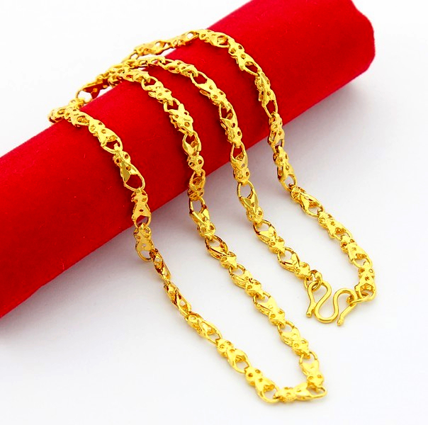 2015 High Taste Leisure Simple Gourd Body Chain 24k Gold Plated Charm Women Luxury Jewelry Necklace Fashion Accessories JP021(China (Mainland))