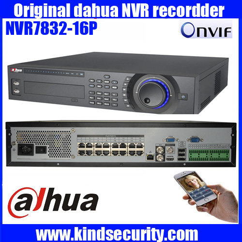 Original dahua 16ch/32ch 2U NVR with 16 POE DAHUA 1080P/720P/D1 support 8HDD with 1 E-sata NVR7816-16P/NVR7832-16P/NVR7864-16P<br><br>Aliexpress
