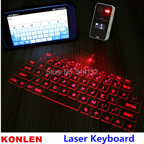Portable projection laser virtual keyboard teclado touchpad wireless bluetooth for XP/vista/android/IOS/Iphone(Hong Kong)