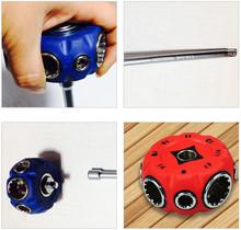 8 en 1 Mini zócalo Universal llave de la palma Ratchet Wrench uso estrecho espacio envío gratis