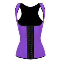 Summer Style Deportiva Sport Latex Waist Cincher Trainers Workout Vest Leopard Waist Training Corsets Wholesale Price(China (Mainland))