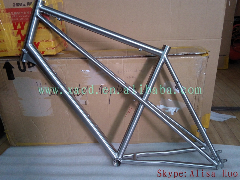 XACD customize titanium mtb frame 2015 new design ti fat bike frame Gr.9(China (Mainland))