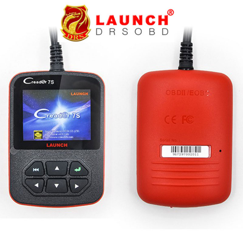 2016 100% Original Launch X431 Creader 7S Code Reader VII Plus +Oil Reset Function Creader 7 Plus Update Via Official Website