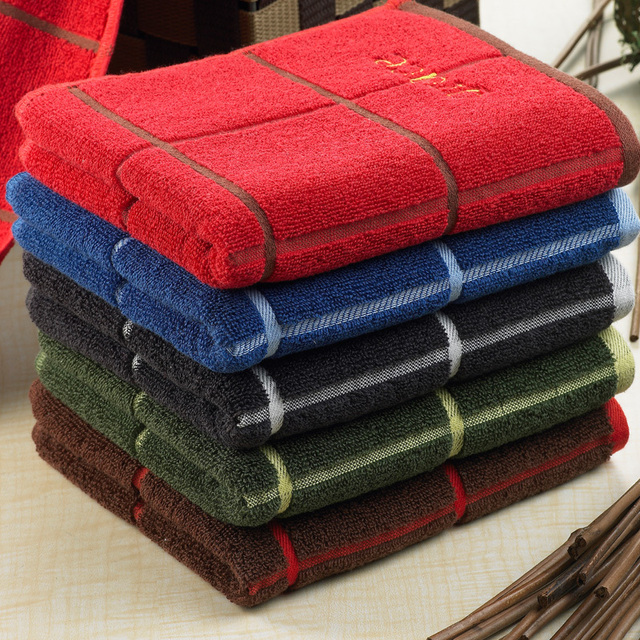 Free Shipping, 3pcs/Lot 100% Cotton Face Towel 72X34CM 95g , 3Colors , cheap and good quality from factory