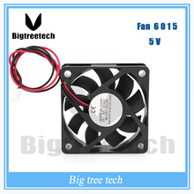 NEW  660mm * 60mm * 15mm 6015 5V 0.2A DC Brushless cooling fan 6015 cpu cooler fan 3D0017 For 3d printer